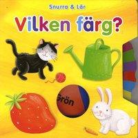 bokomslag Snurra och lär. Vilken färg?