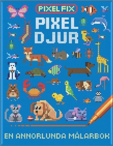 bokomslag Pixel-djur
