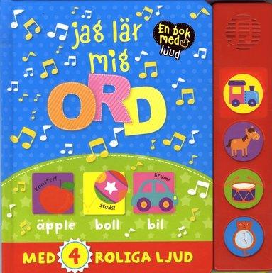 bokomslag Jag lär mig ord : en bok med ljud