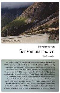 bokomslag Schweiz berättar : sensommarmöten - tjugofem noveller