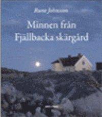 bokomslag Minnen från Fjällbacka skärgård