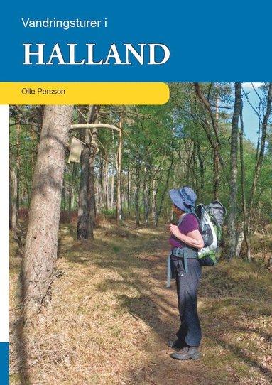 bokomslag Vandringsturer i Halland
