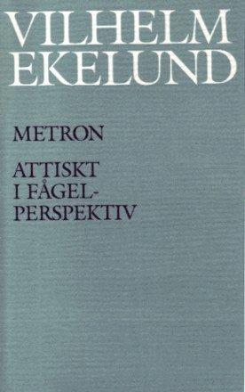 bokomslag Metron / Attiskt i fågelperspektiv