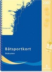 bokomslag Båtsportkort Ostkusten Trosa Västervik 2014