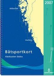 bokomslag Båtsportkort Västkusten Södra 2014 Måseskär-Kullen