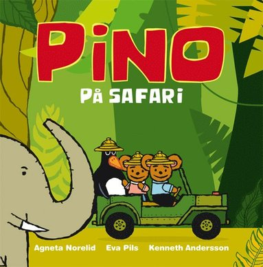 bokomslag Pino på safari