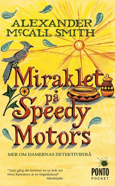bokomslag Miraklet på Speedy Motors