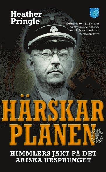bokomslag Härskarplanen : Himmlers jakt på det ariska ursprunget