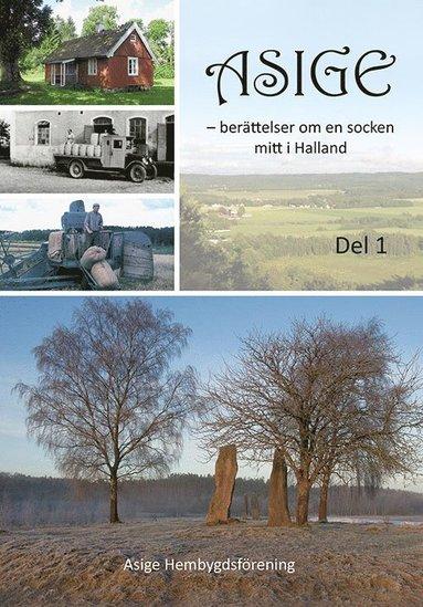 bokomslag Asige - berättelser om en socken mitt i Halland
