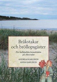 bokomslag Bråkstakar och bröllopsgäster - Fler halländska levnadsöden på 1600-talet