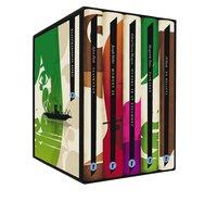 bokomslag Moderna utländska klassiker (box) De besatta ; Glaskupan ; Hundra år av ensamhet ; Moment 22 ; Älskaren