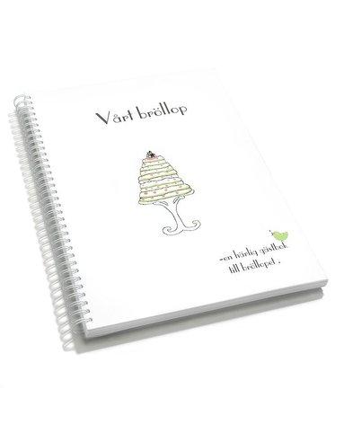 bokomslag Vårt bröllop : en härlig gästbok till bröllopet