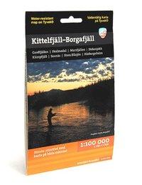 Kittelfjäll - Borgafjäll (1:100 000)