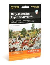 Härjedalsfjällen, Rogen & Grövelsjön (1:100 000)