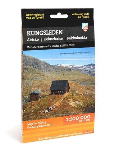 bokomslag Kungsleden : Abisko - Kebnekaise (1:100 000)