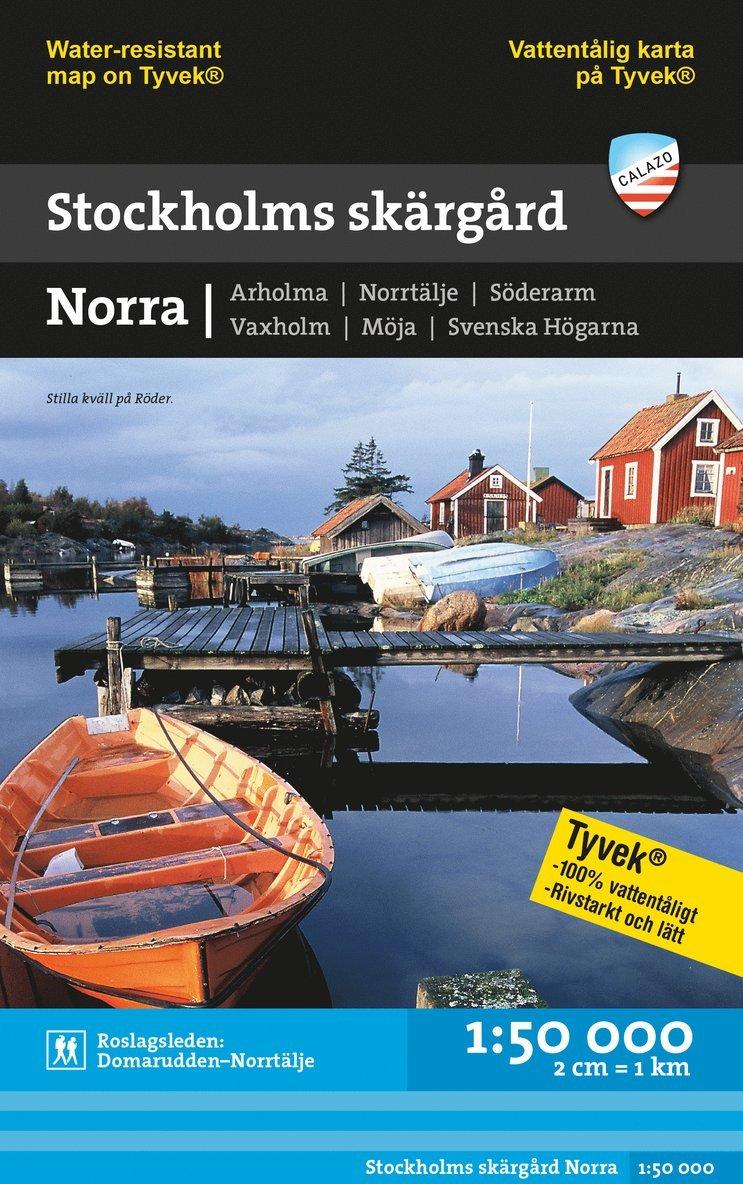 Stockholms skärgård - Norra (1:50 000) 1