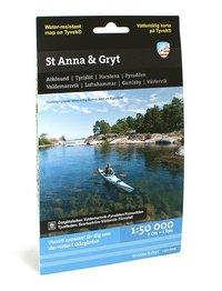 bokomslag St Anna och Gryt (1:50 000)