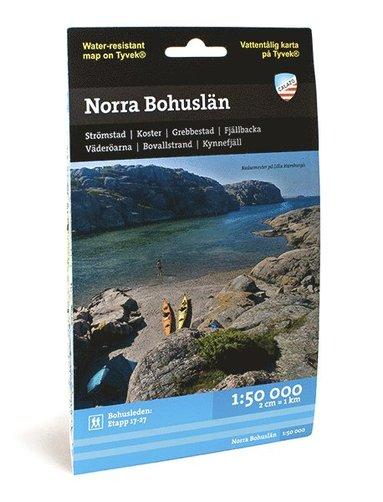 bokomslag Norra Bohuslän (1:50 000)