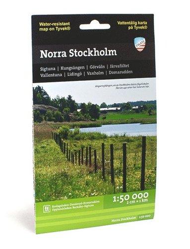 bokomslag Norra Stockholm (1:50 000)
