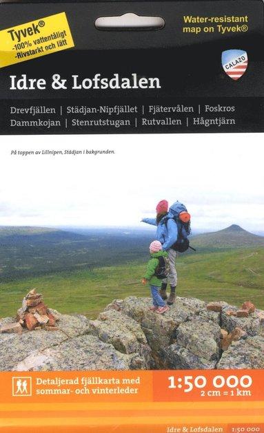 bokomslag Idre & Lofsdalen Tyvekkarta 1:50.000