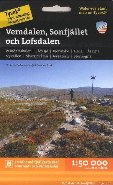 bokomslag Vemdalen, Sonfjället och Lofsdalen