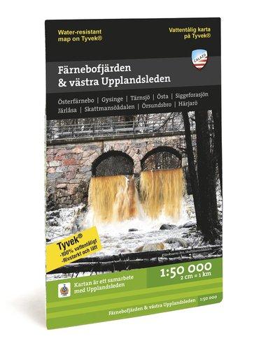 bokomslag Färnebofjärden & västra Upplandsleden