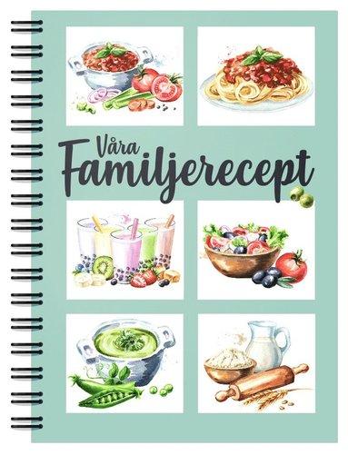 bokomslag Våra Familjerecept