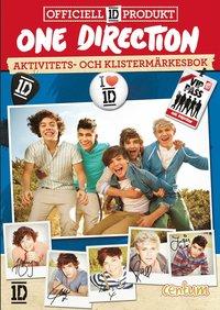 bokomslag One Direction : aktivitets- och klistermärkesbok