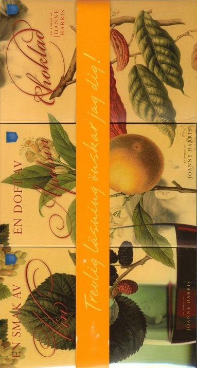 bokomslag Presentbox mattrilogin; Vin; Apelsin; Choklad