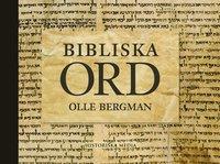 bokomslag Bibliska ord
