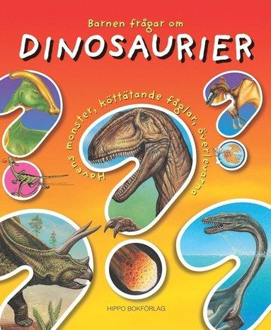 bokomslag Barnen frågar om dinosaurier