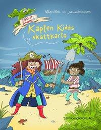 bokomslag Kapten Kidds skattkarta