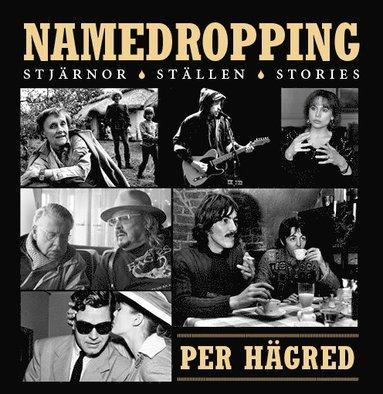 bokomslag Namedropping : stjärnor, ställen, stories