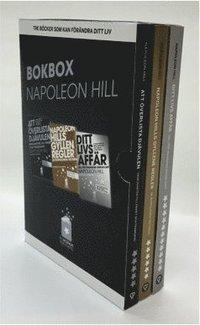 bokomslag Napoleon Hill - Tre böcker som kan förändra ditt liv Samlarbox