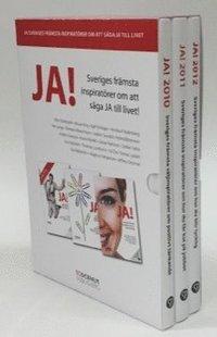 bokomslag JA! Sveriges främsta inspiratörer om att säga JA till livet
