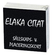 bokomslag Elaka Citat (Snackisar)
