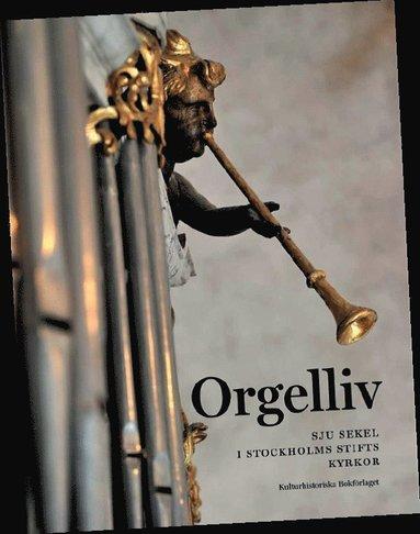 bokomslag Orgelliv : sju sekel i Stockholms stifts kyrkor
