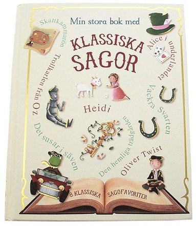 bokomslag Min stora bok med klassiska sagor