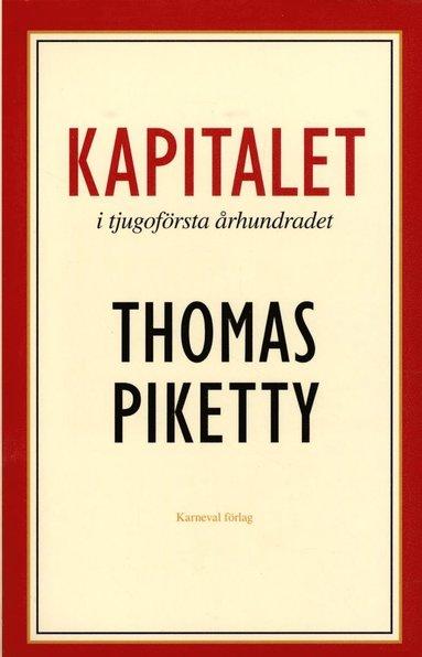 bokomslag Kapitalet i tjugoförsta århundradet