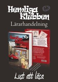 bokomslag Lärarhandledning Hemliga Klubben skumma sabotören + webblicens 30st (12mån)