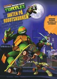 bokomslag Turtles - Jakten på robotskurken