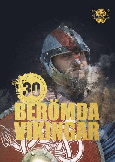 bokomslag 30 berömda vikingar