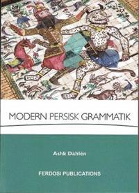 bokomslag Modern Persisk Grammatik