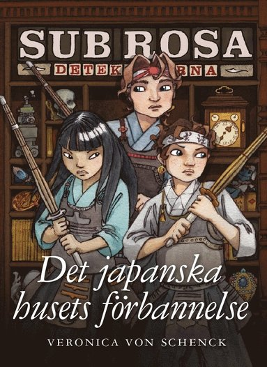 bokomslag Det japanska husets förbannelse