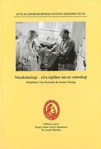 bokomslag Musiketnologi - elva repliker om en vetenskap