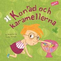 bokomslag Konrad och karamellerna
