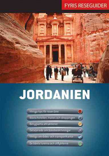 bokomslag Jordanien med karta