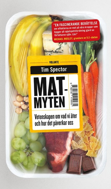 bokomslag Matmyten : vetenskapen om vår mat