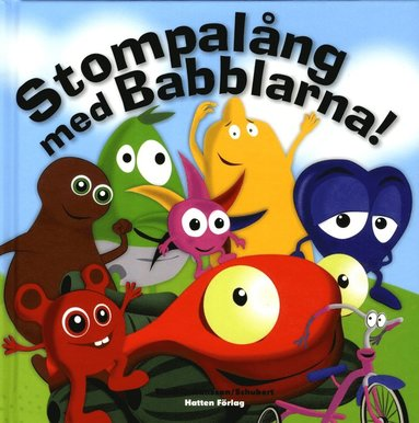 bokomslag Stompalång med Babblarna