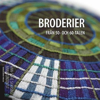bokomslag Broderier från 50- och 60-talen